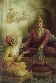 dhritarashtra et sanjaya