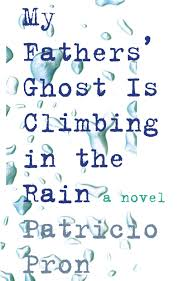 my father's ghost is climbing the rain