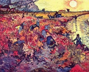 vignerouge Van Gogh