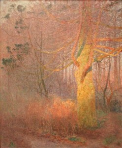 Emile Claus Tree in the Sun