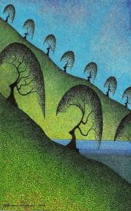Lawrie Dignan arbres chevelure
