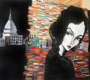 Book Art Mike Stilkey