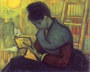 A Novel Reader Van Gogh
