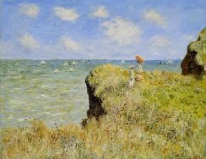 Monet Falaise Pourville