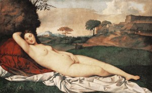 Venus endormie Giorgione